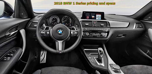 2018 BMW 1 Series pricing and specs