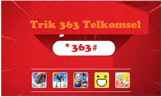 Cara membuat kuota Unlimited Telkomsel 363