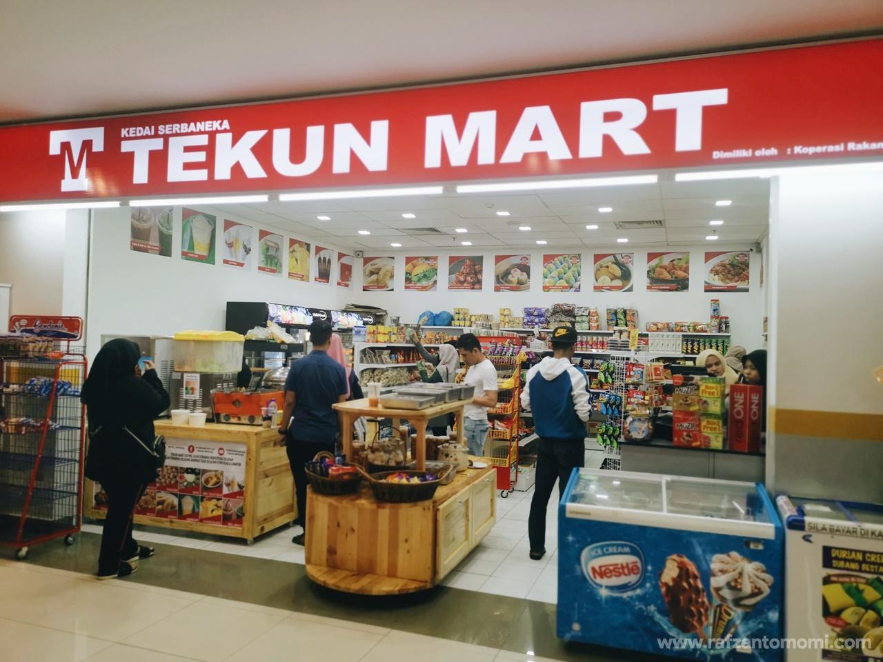 Tekun Mart Di TBS Buka Tempahan Oden Halal