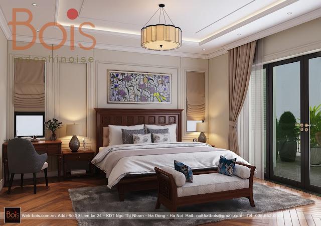 Biệt thự đơn lập Hado Charm Villas Thiết kế phong cách Đông Dương Indochine chủ đầu tư Anh Tống Hưng.