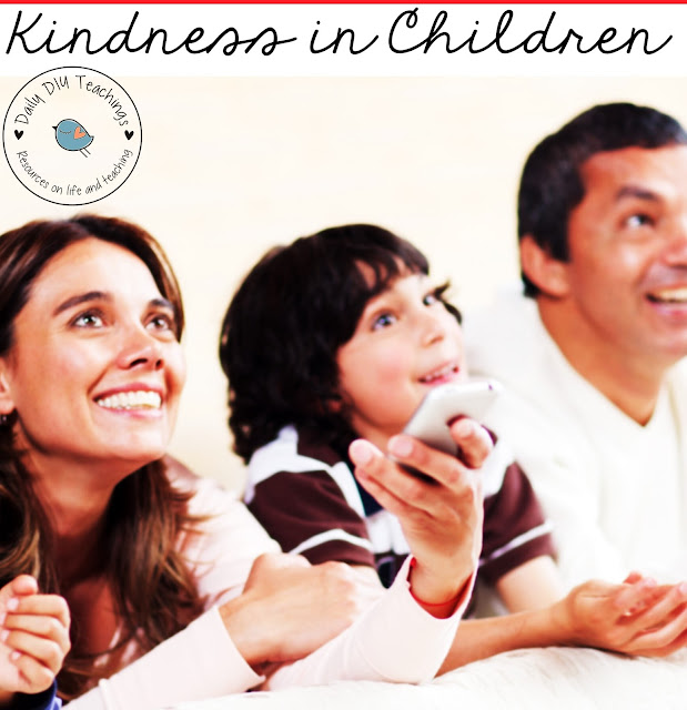 A great way to promote kindness in children is show them movies that promote kindness! Kids love movies and they will love getting involved and acting out scenes from movies. Now that we're stuck inside even more these days, there's no doubt that at least some screen time will be scheduled throughout the day.