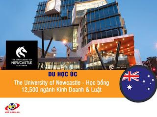 Du học Úc: Đại học Newcastle – Học bổng 12,500 ngành Kinh Doanh & Luật