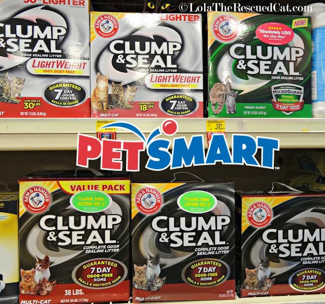 arm & hammer clump and seal|petsmart