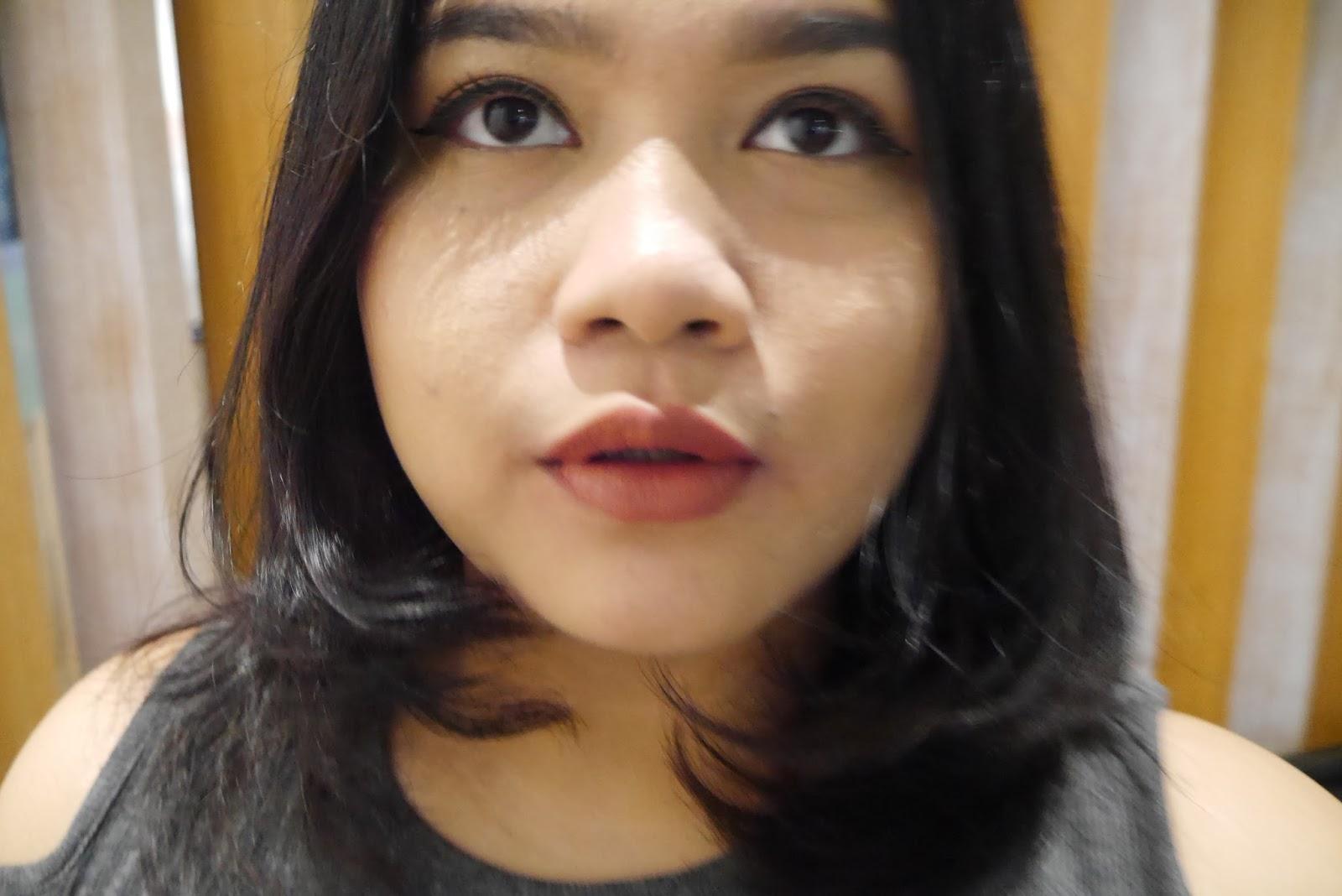 Review Make Over Intense Matte Lip Cream Kania Dachlan Lips Shade 008 Libertine
