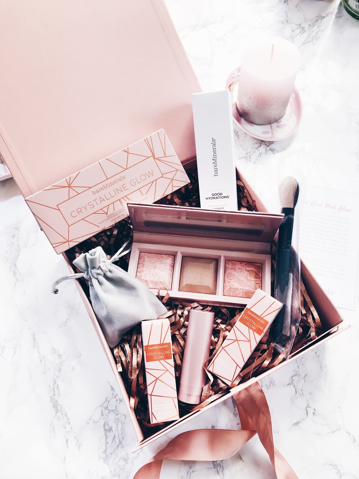 The NEW Crystalline Highlight collection from bareMinerals
