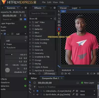 Software Untuk Menghapus Background Video Gratis Terbaik-4