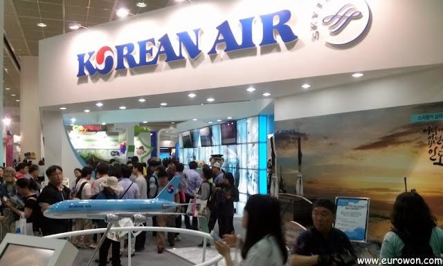 Stand de Korean Air