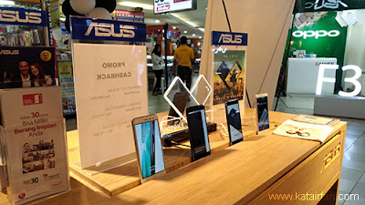 Galip menyatakan, kehadiran official store ini juga tidak lepas dari dukungan para pengguna setia produk-produk ASUS di Indonesia dan tingginya demand yang kami miliki, di kawasan ITC Cempaka Mas pada khususnya, dan Jakarta pada umumnya.