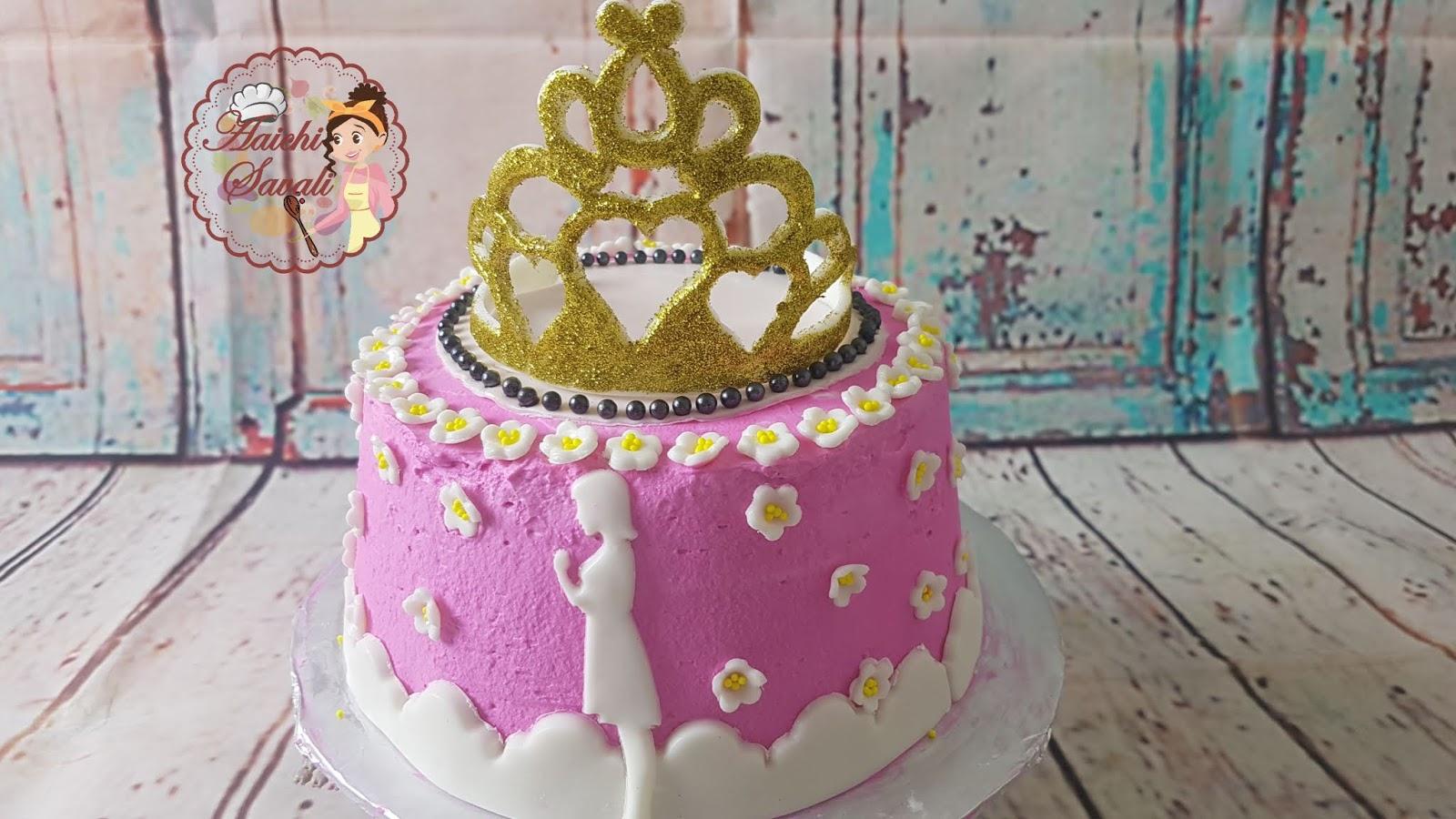 Princess Cake Ideas How To Make A Princess Tiara Cake