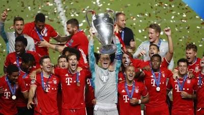 Bayern Munich  Jawara  Liga Champions Setelah Taklukkan PSG 1-0