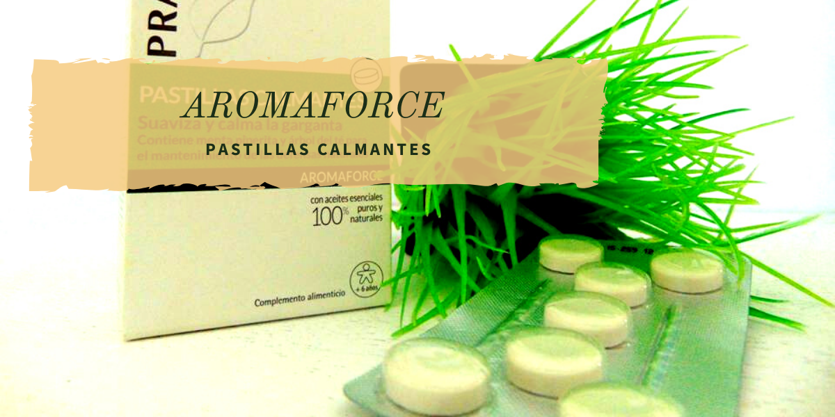 AROMAFORCE pastillas calmantes