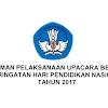 Pedoman Pelaksanaan Upacara Bendera Peringatan Hari Pendidikan Nasional Tahun 2017