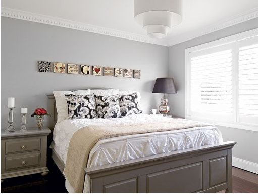 Light grey paint for bedroom for Bedroom ideas light grey