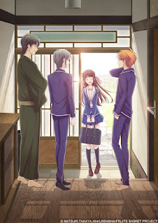 Visual e detalhes do novo anime de Fruits Basket