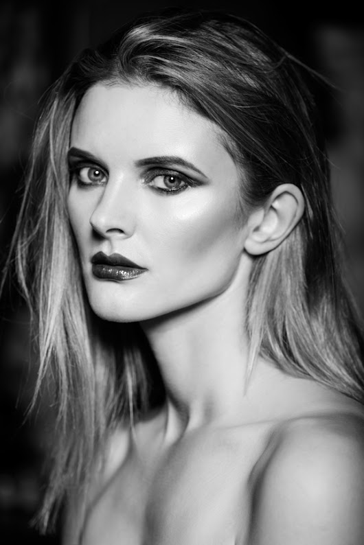 All black and white | Central School of Make Up | beauty photographer in Birmingham | garazi photography