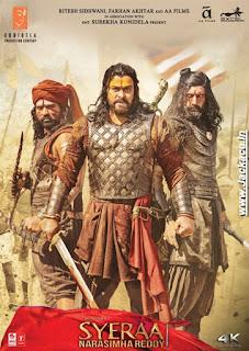 Sye Raa Narasimha Reddy Budget, Screens & Box Office Collection India, Overseas, WorldWide