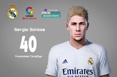 PES 2021 Faces Sergio Santos Fernánde by CongNgo