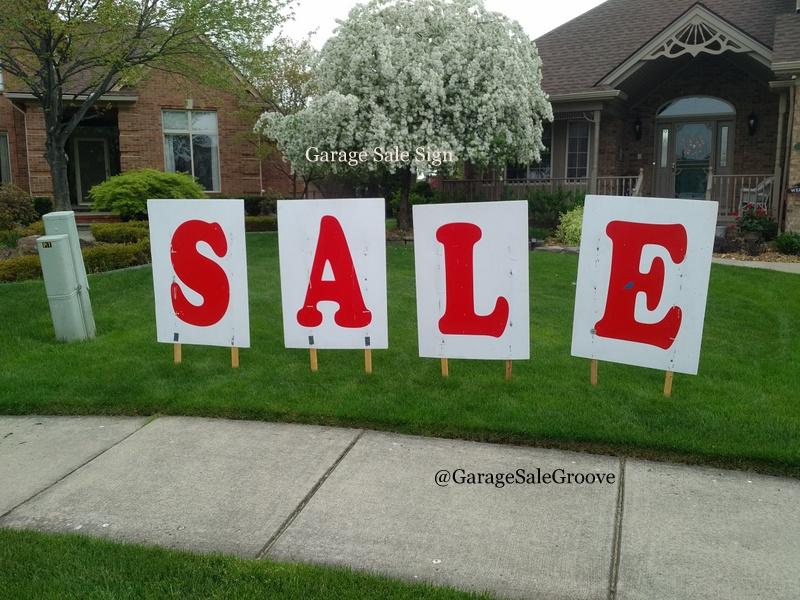 how to make garage sale signs garage ale groove june 2016 how to make garage sale signs