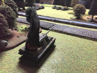 The Soviets destroy a German Jadgtiger