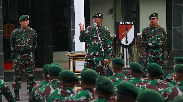 Pangkostrad Kunjungi Yonif Mekanis Raider 412 Kostrad di Purworejo