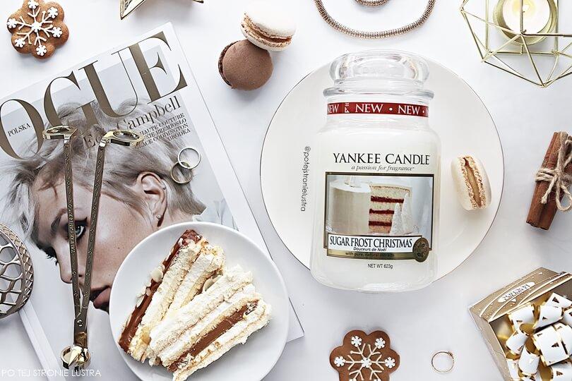 yankee candle sugar frost christmas zapach limitowany święta 2018