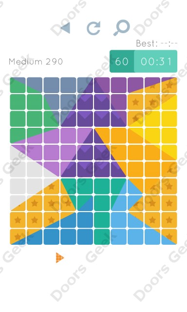 Cheats, Walkthrough for Blocks and Shapes Medium Level 290
