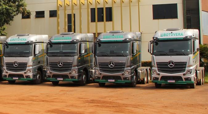 Botuverá adquire 30 unidades do Novo Actros e mais oito exemplares da linha Axor
