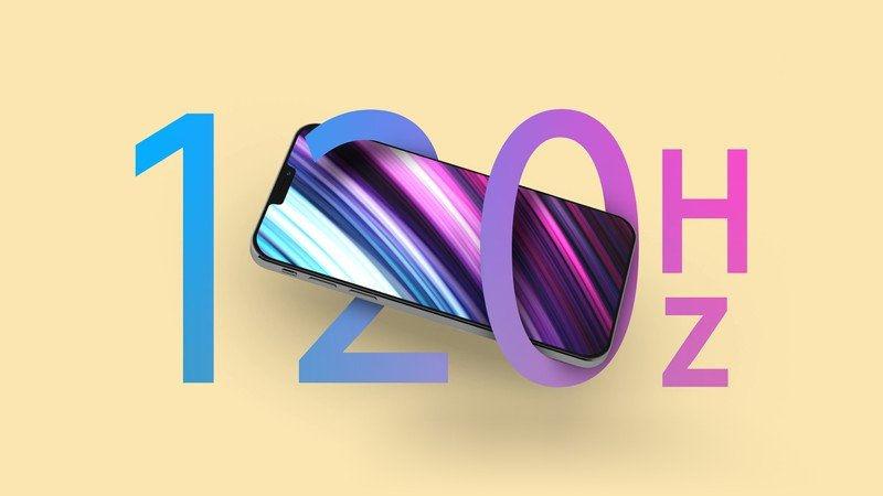 iPhone 13 - 120Hz ekran