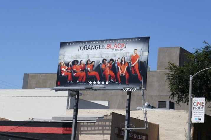 Orange New Black 2019 Emmy FYC billboard