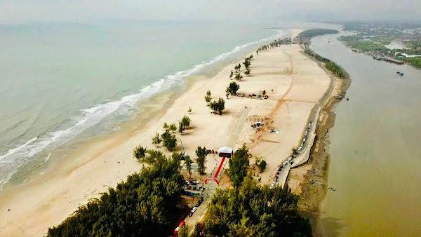 hình ảnh thực tế đơn vị đang thi công tại dự án Habana Island Hồ Tràm