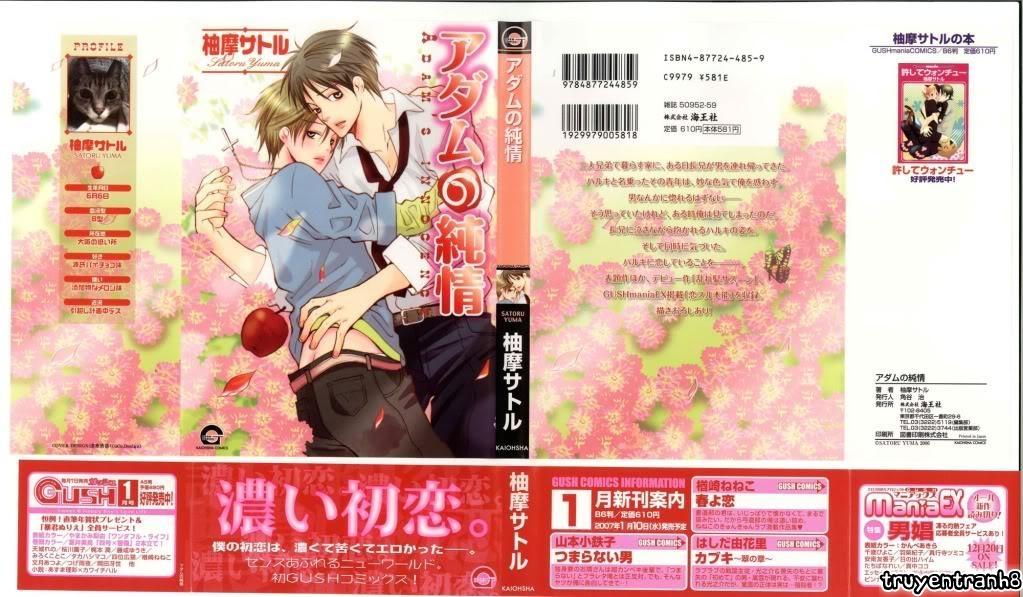 Hình ảnh truyentranh8.com IMG_0001 in ADAM NO JUNJOU