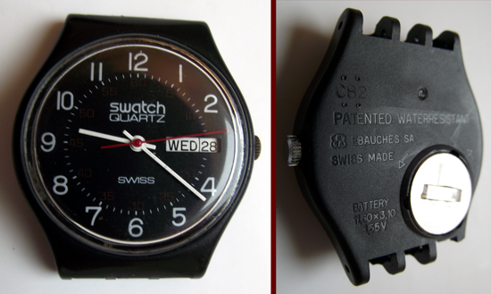 Swatch USA 1982