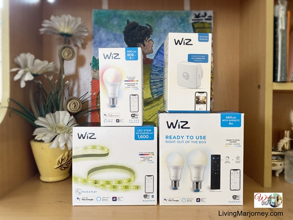Setting Mood and Relaxing Ambiance with WiZ Light