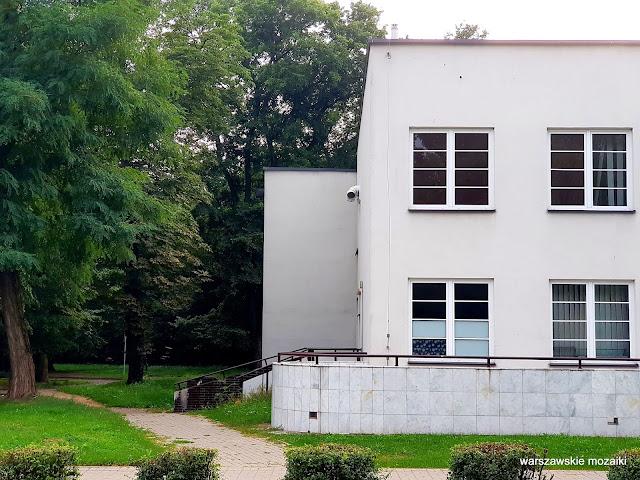 Warszawa Warsaw Akademia Wychowania Fizycznego  Aleksander Norwerth 1929 Stare Bielany Marymoncka modernizm architektura architecture
