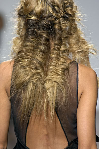 Beauty Inspiration The Fishtail Braid The Front Row View