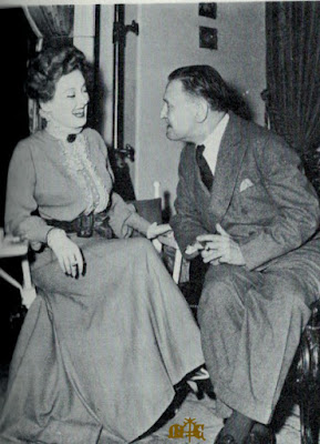Somerset Maugham and Bette Davis