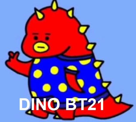 gambar dino Bt21
