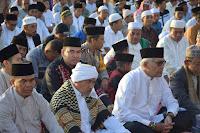 Qori Internasional Jadi Imam Sholat Idul Fitri di Kantor Bupati Bima