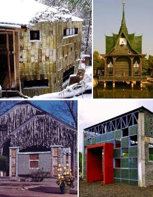 5 desain rumah mewah yang terbuat dari sampah | rumah