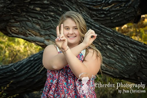professional portrait of a beautiful high school senior in Corrales