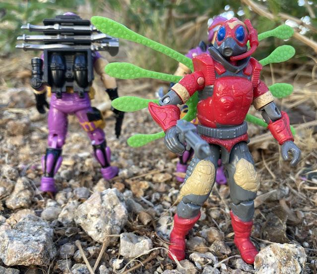 1987 Royal Guard, Cobra La, Sea Slug, Techno Viper