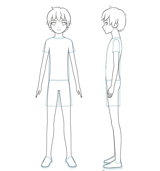 Gambar baju anak anime