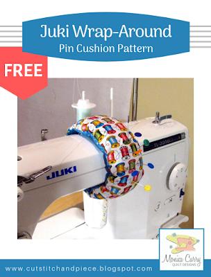 FREE - Juki Wrap Around Pin Cushion Pattern