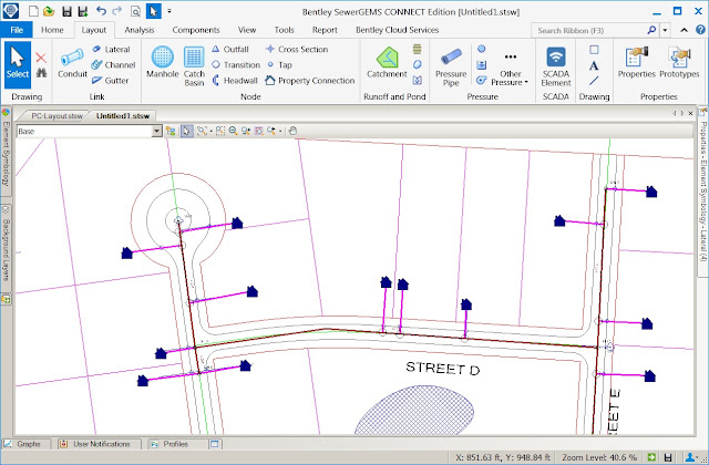 SewerGEMS and SewerCAD Advance Simulation and Reporting for Sewer Utilities