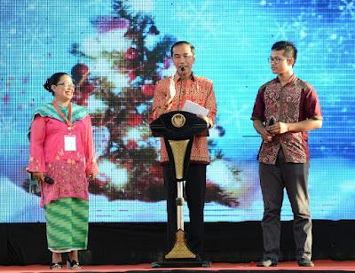 Presiden Jokowi: Jangan Pernah Lelah Bekerja