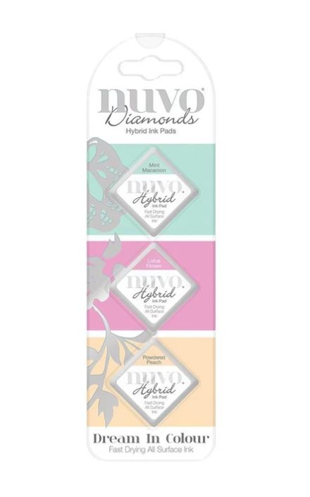 Nuvo Dream in Color Diamond Ink Pads
