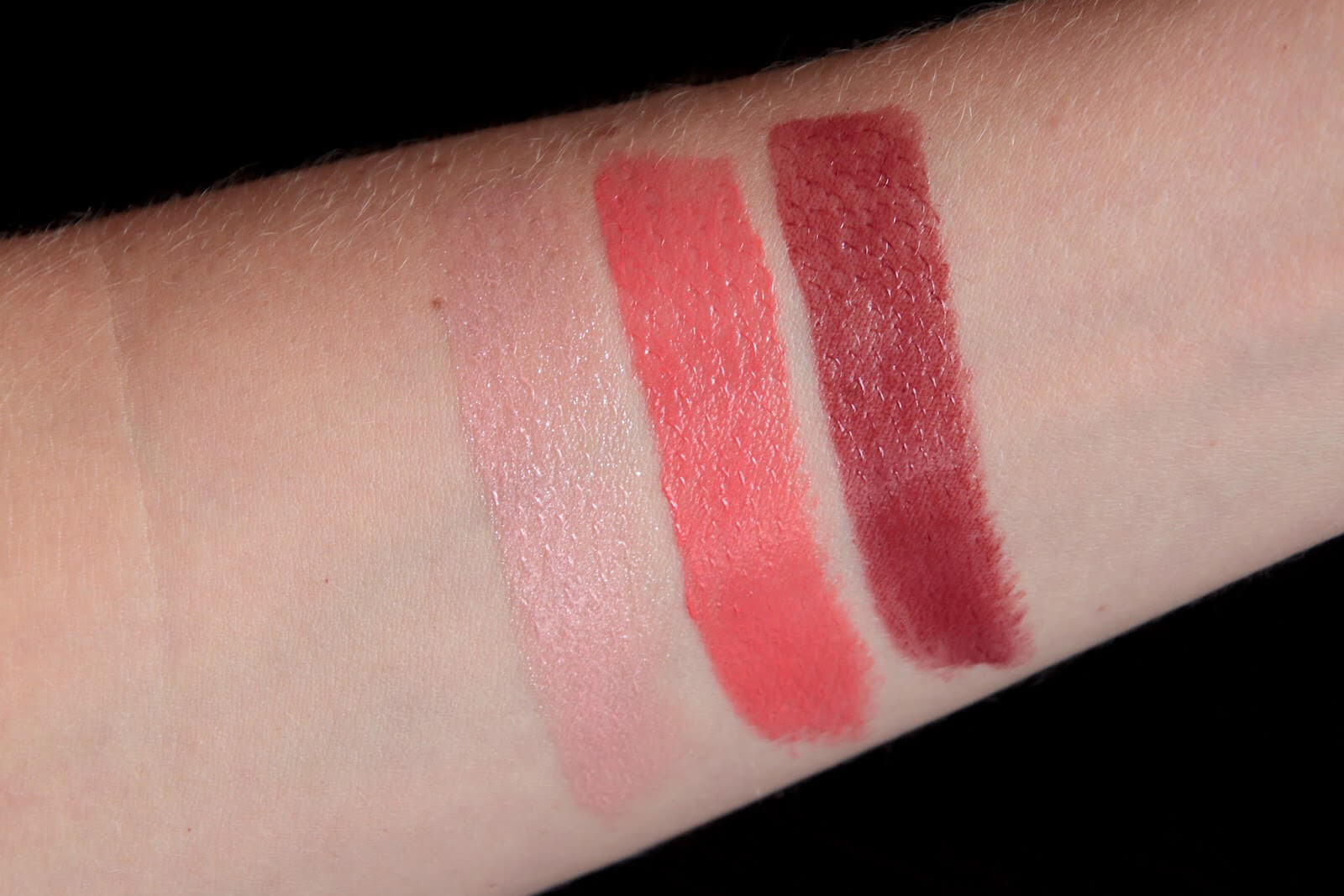 Nars Lipstick Sheer Living Doll Gipsy Little Princess swatch