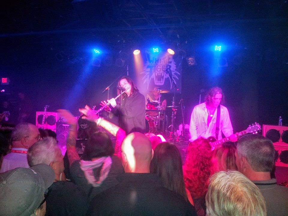 White Tiger on stage at the Stone Pony Dec 13, 2014