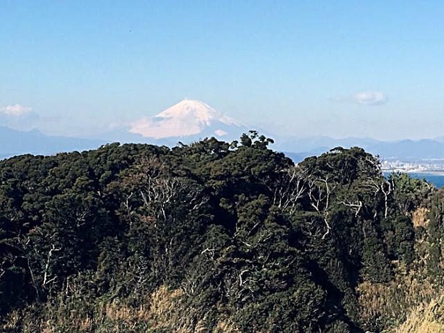御岩屋道からの富士山