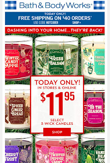 Bath & Body Works | Today's Email - October 29, 2019